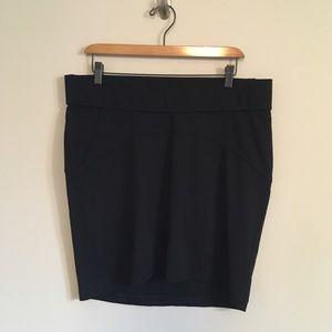 Old Navy Maternity Career Basic Black Skirt Size M
